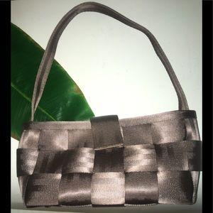 NEW Harvey Seatbelt Satchel Shoulder Bag Brown